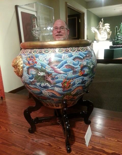Dad in a Vase