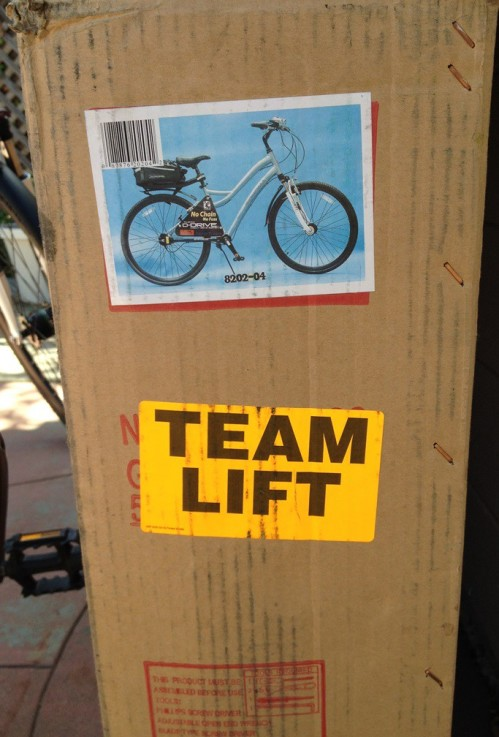 bike c - team lift