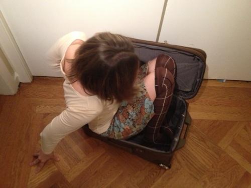 suitcase e